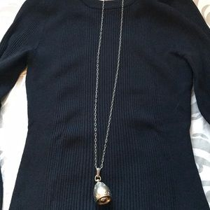 Brighton Silver Bell Necklace